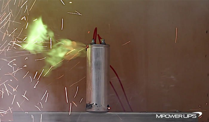 Exploding Capacitor!