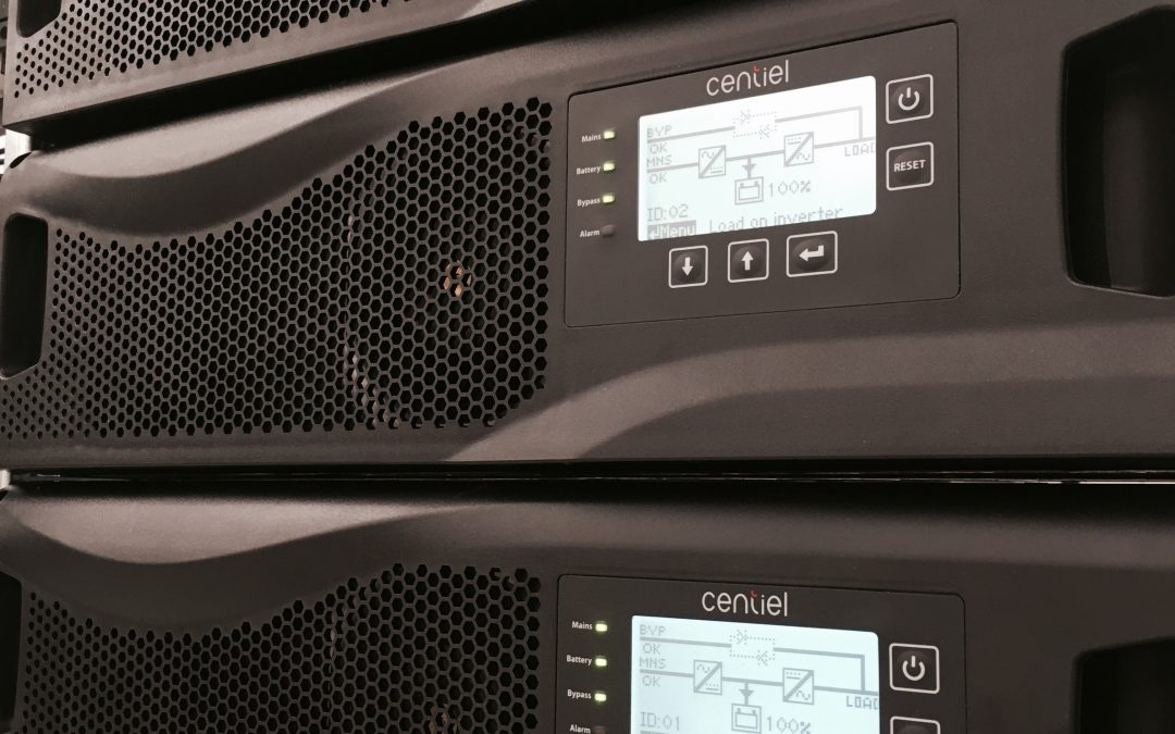 """CumulusPower Swiss-made Three-Phase, 4th Generation Modular UPS system which offers industry leading """"9 nines"""" availability and lowest total cost of ownership."""