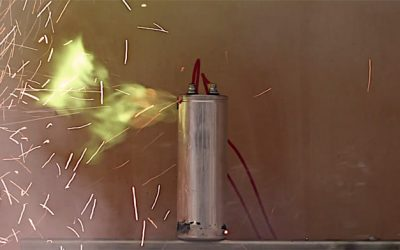 When capacitors fail, they fail spectacularly