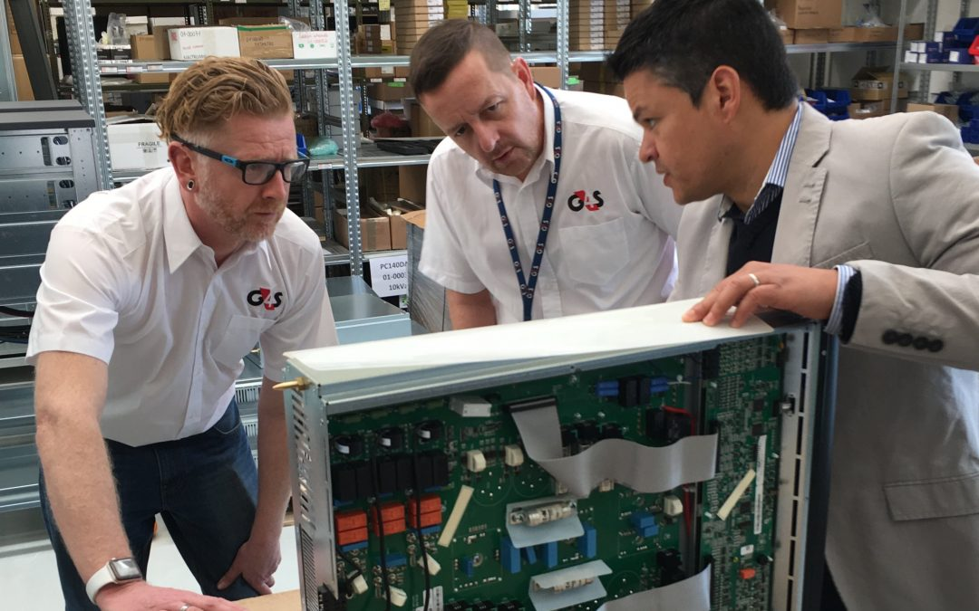 G4S Visit Centiel's HQ Switzerland for Factory Acceptance Test. Swiss made Modular and standalone UPS