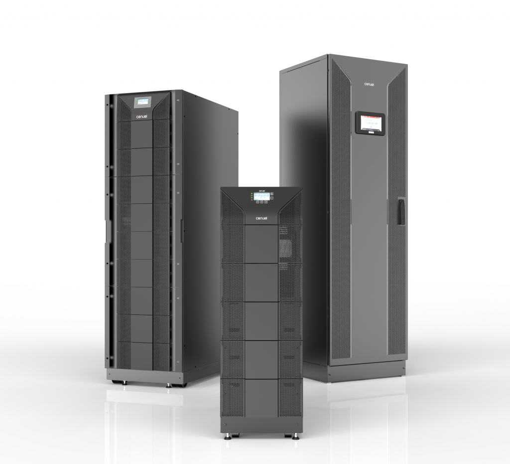 PremiumTower Three-phase UPS from Centiel Continuous Power Availability Swiss-based Uninterruptible Power Supplies