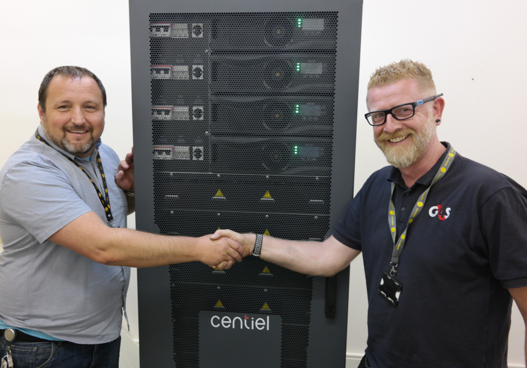 Centiel & G4S deliver secure power to the Channel Islands Tier iii Data Centre (SURE)