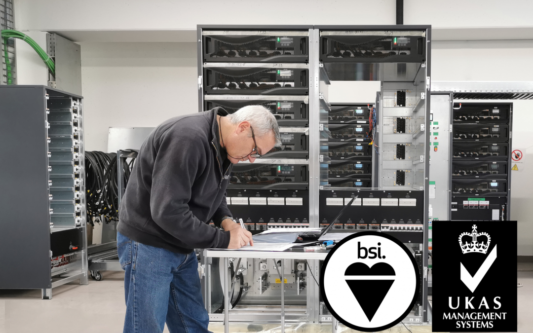 BSI UKAS Accredited Swiss Quality UPS Manufacturer