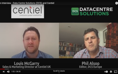Data Centre Solutions (DCS) and Centiel Zoom Interview